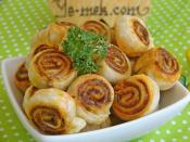 Cumin Puff Pastry Snacks Recipe