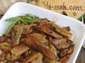 Sauteed Oyster Mushrooms Recipe