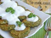 Fresh Broad Bean Patties Recipe