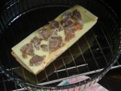 Kavurmalı Ekmek Pizzası