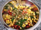 Meksika Fasulyesi Salatası