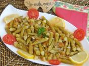 Zeytinyağlı Taze Bamya Yemeği