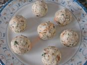 Cevizli Ve Fıstıklı Peynir Topları