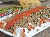 İskender Kebab With Minced Meat Recipe