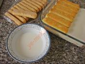 Gum Mastic Lady Fingers Cake Recipe