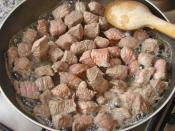 Et Nasıl Kavrulur