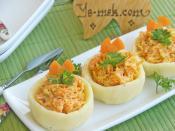 Patates Çanağında Havuç Salatası
