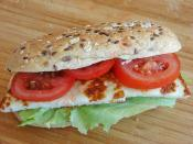 Halloumi Cheese Sandwich Recipe Recipes From Turkish