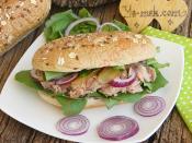 Rokalı Ton Balıklı Sandviç