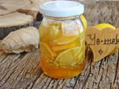 Ginger Lemon Honey Recipe