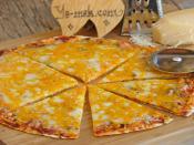 4 Peynirli Tortilla Pizza