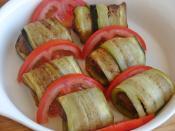 Köfteli Patlıcan Sarma