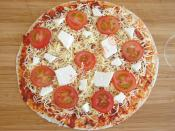 Tortilla Pizza With Parsley Recipe