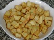 Fırında Mantarlı Patates