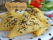 Fırında Patatesli Muska Böreği