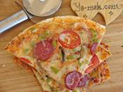 Mixed Tortilla Pizza Recipe