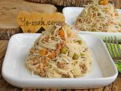 Minced Meat And Garnish With Vermicelli Pilaf Recipe