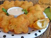 Fried Dough With Vegetable Recipe