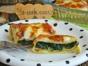 Bechamel Sauce Spinach Crepe Recipe