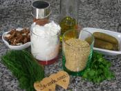 Yoğurtlu Bulgur Salatası