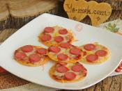 Mini Tortilla Pizzas Recipe