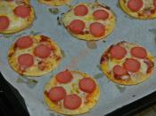 Tortilladan Minik Pizzalar