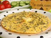 Çörek Otlu Peynirli Omlet
