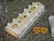 Pastane Usulü Muzlu Rulo Pasta