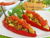 Red Pepper Stuffed With Vegetables Recipe