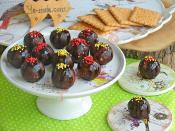 Kakaolu Bisküvi Topları