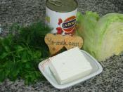 Peynirli Meksika Fasulyesi Salatası