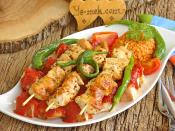 Chicken Kebab With Pita Recipe