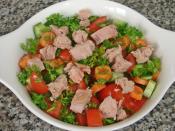 Jalapeno Biberli Ton Balıklı Salata