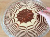 Alacalı Ebruli Kek