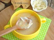 Bademli Tavuk Çorbası