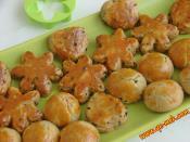 Çörek Otlu Mini Tuzlu Kurabiye