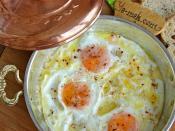 Sahanda Peynirli Yumurta