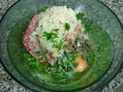 Salçalı Pirinçli Sulu Köfte