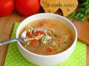 Sebzeli Köy Tavuğu Çorbası