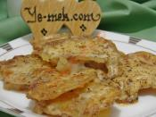 Fırında Sütlü Kaşarlı Patates