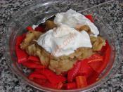 Közlenmiş Kırmızı Biberli Patlıcan Salatası
