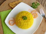 Zerdeçallı Pirinç Pilavı