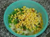 Mercimekli Arpa Şehriye Salatası