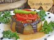 Etli Bostan Patlıcan Kebabı
