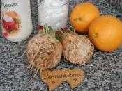 Portakal Kasesinde Kereviz Salatası