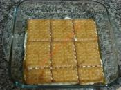 Bal Kabaklı Bisküvi Pastası