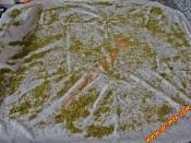 Hazır Yufkadan Tavada Tereyağlı Fıstıklı Katmer
