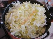 Kıymalı Kapuska Yemeği