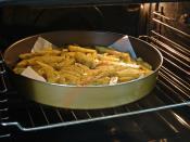Fırında Patatesli Tavuk İncik