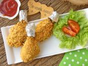 Fırında Mısır Gevrekli Tavuk Baget